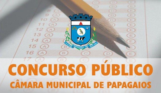 Câmara Municipal de Papagaios vai realizar Concurso Público